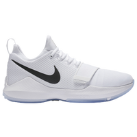 9da98a748bb0 Nike PG 1 - Men s - Paul George - All White   White