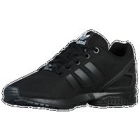 best sneakers 4d922 5fcaf adidas Originals ZX Flux - Boys Grade School - All Black  Black