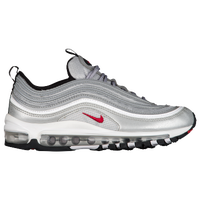 big sale e965a 244ee Nike Air Max  97 - Women s - Silver   Red