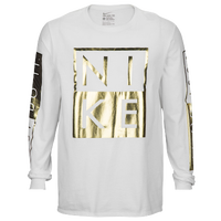 T-Shirts Gold White | Footaction