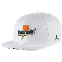 Jordan Gatorade Snapback - White   Dark Green 08dcf786712