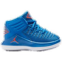 78bbcdedf91e4f Jordan AJ XXXII Mid - Boys  Toddler - Blue   Orange