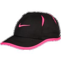 Nike Featherlight Cap - Girls' Toddler - Black / Pink
