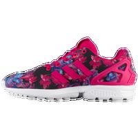 adidas shoes 2017 for girls. adidas originals zx flux - girls\u0027 grade school pink / white shoes 2017 for girls