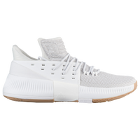 size 40 bf19b 08391 adidas Dame 3 - Mens - Damian Lillard - White  Tan