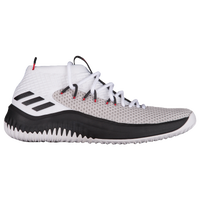 best loved d8fe7 03efd adidas Dame 4 - Mens - Damian Lillard - White  Black
