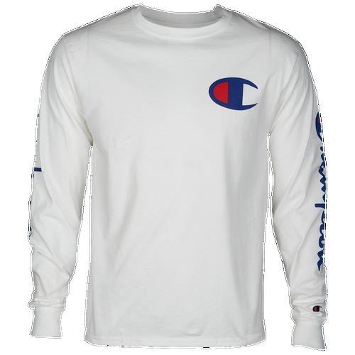 Champion Graphic Long Sleeve T-Shirt - Men s - Clothing 65bfeec78d0