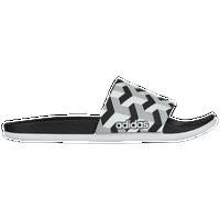 quality design dff3b e5910 adidas Adilette Cloudfoam Plus - Mens - Black  White