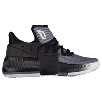 finest selection f4076 f5755 adidas Dame 3 - Boys Grade School - Damian Lillard - White  Black