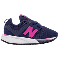 new balance shoes for girls. new balance 247 - girls\u0027 toddler navy / pink shoes for girls o