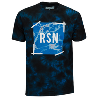 Reason Marble S/S T-Shirt - Men's - Black / Blue