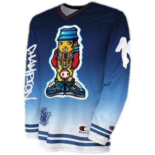 Champion Phade Graffiti Hockey Jersey - Men s - Clothing d1069889071